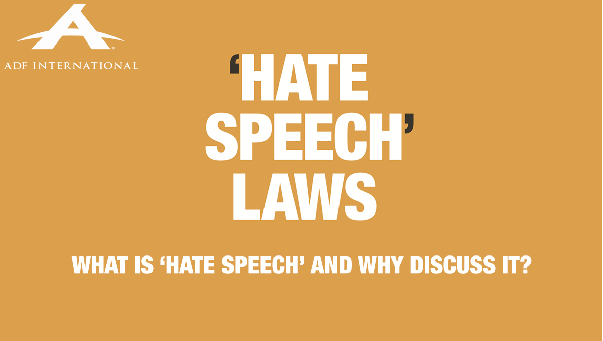 Hate Speech Article