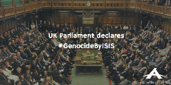 UK Parliament declares #GenocideByISIS