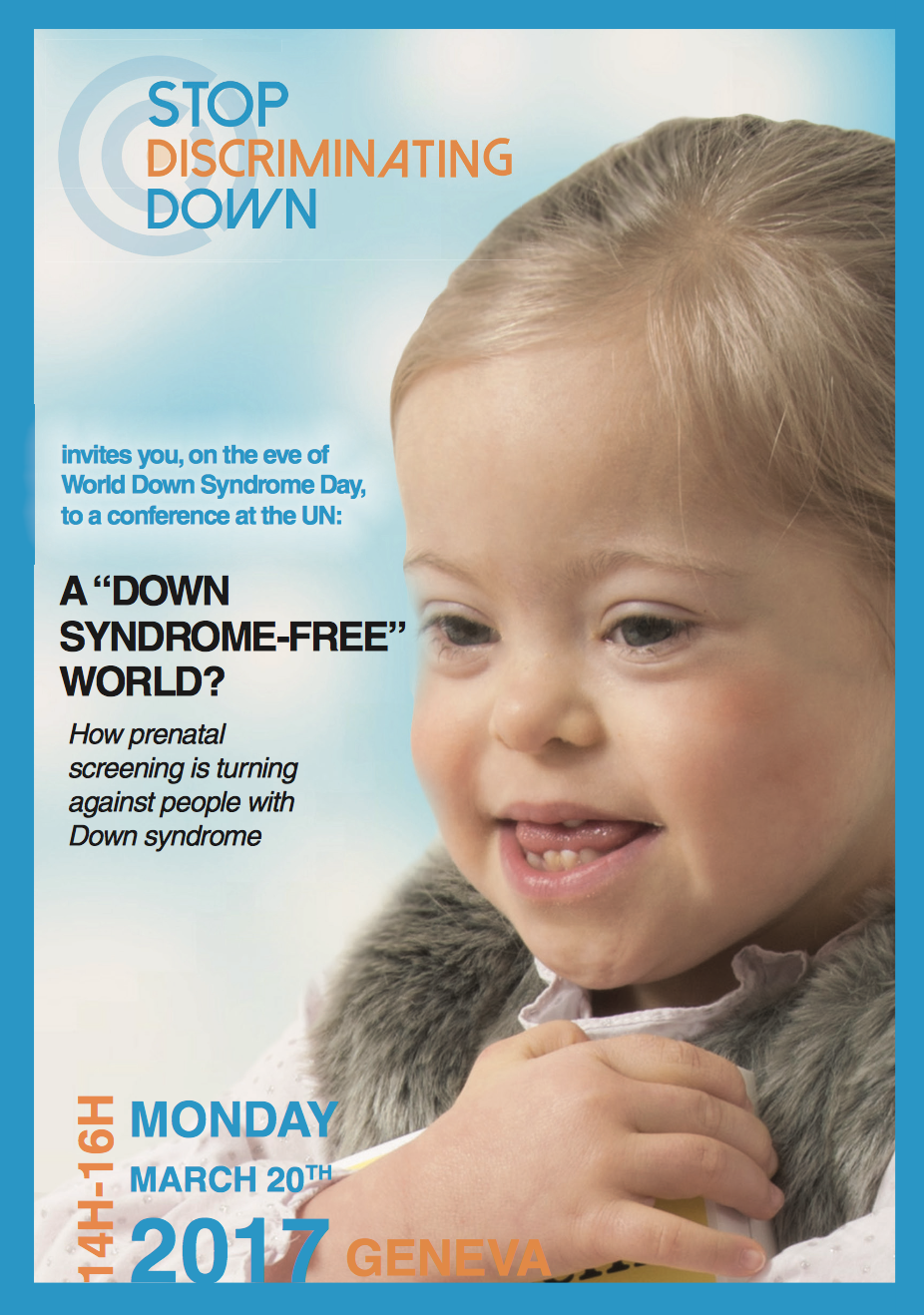 Down Syndrome Flyer