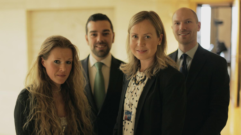 Ellinor Grimmark, Ruth Nordström and the ADF International Team