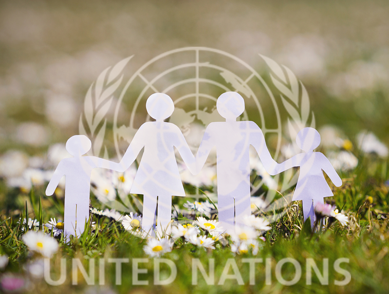 UN Family white