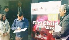 Opening Girl Child Week New Delhi 2
