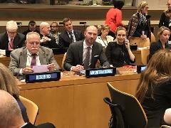 Paul Coleman at UN