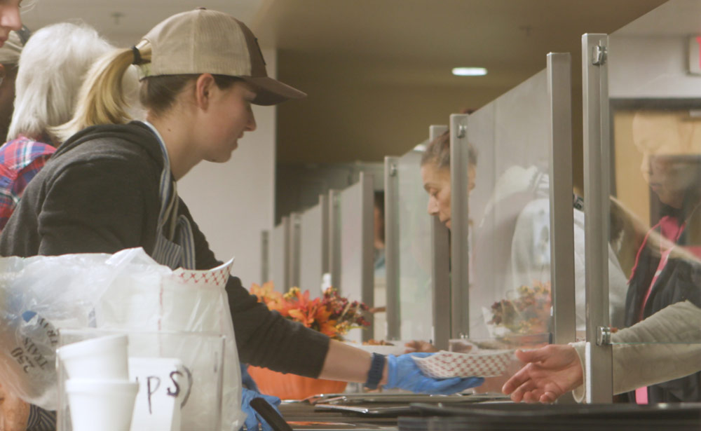 Women Being Served at Downtown Hope Center