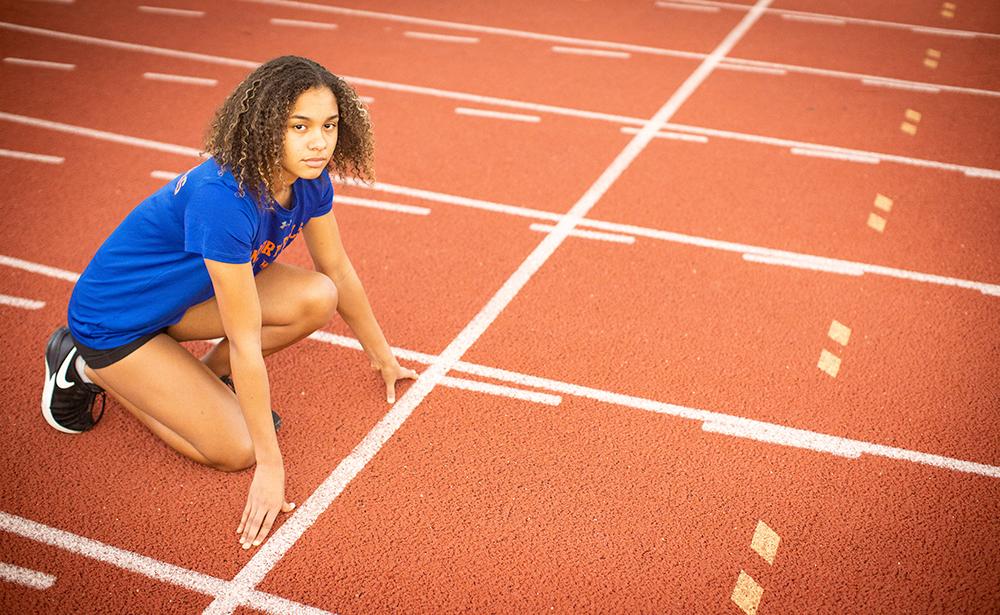 Alanna On Track