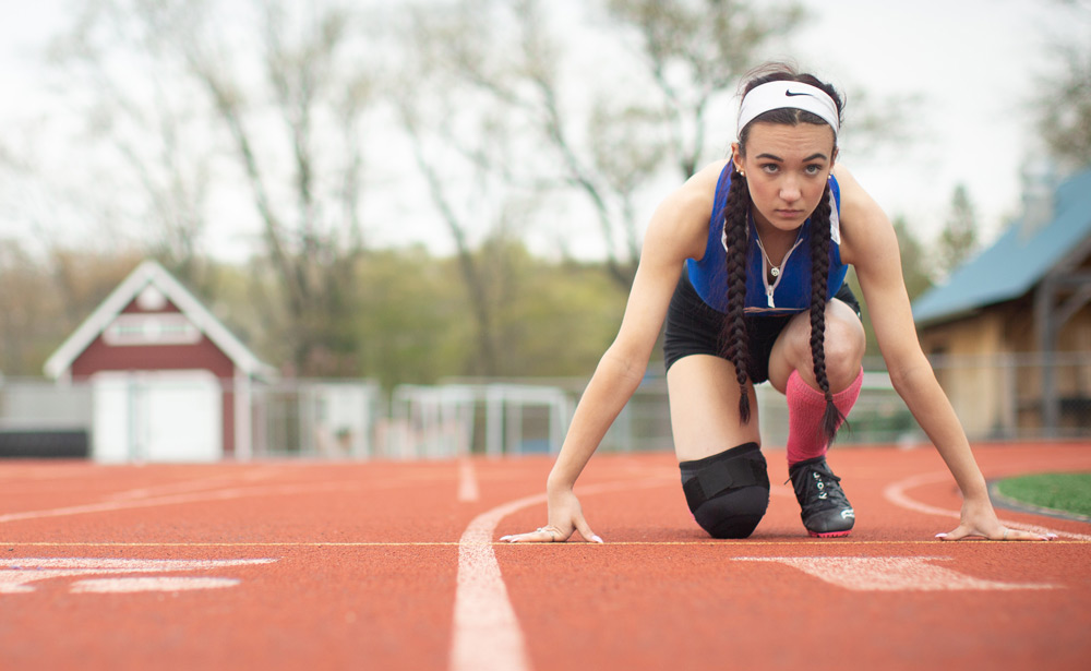 Connecticut high school runner Selina Soule is speaking out to challenge policies that allow biological males to compete in women's athletics.