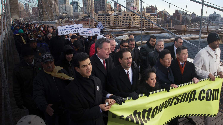 Bronx Churches March
