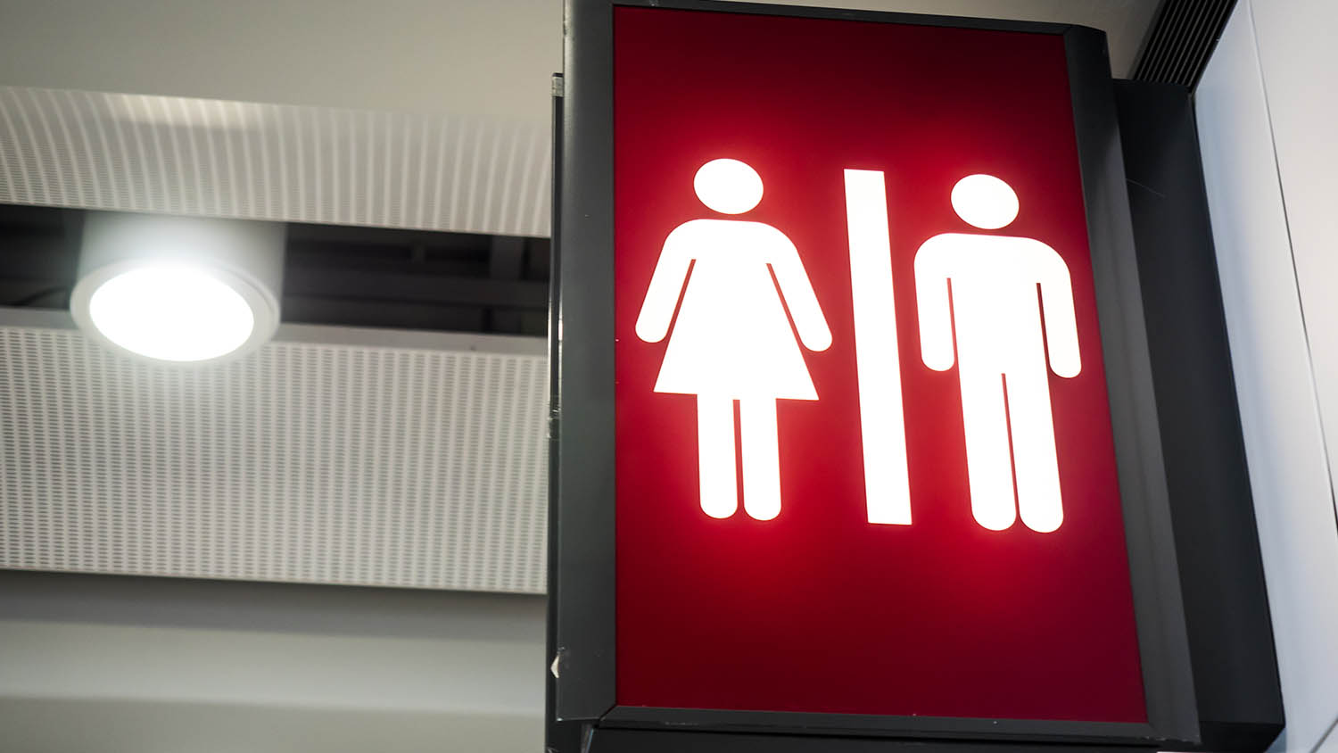 red-bathroom-sign