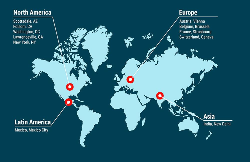 ADF Global Map