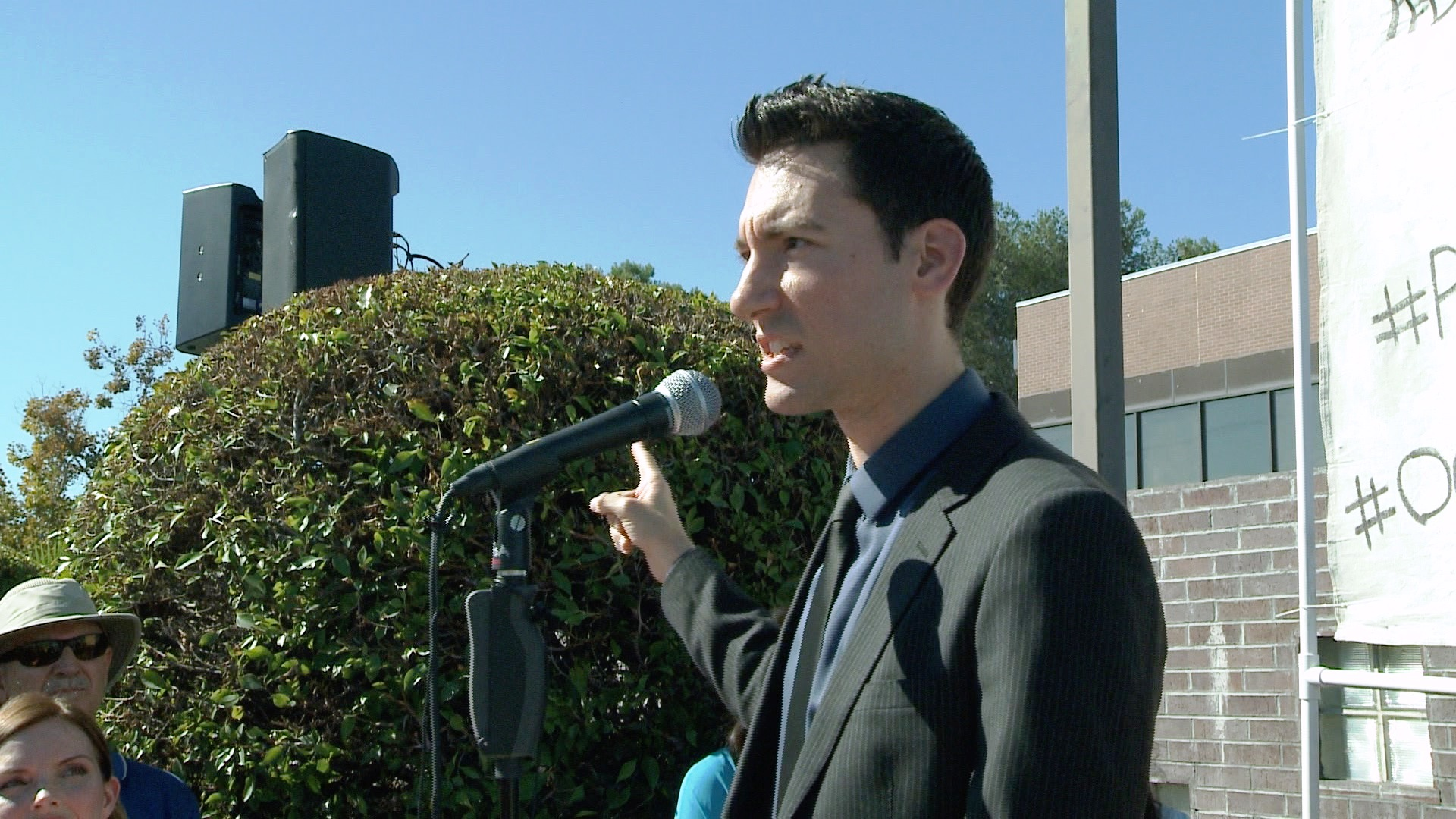 David Daleiden - Planned Parenthood Protest 10-10-15